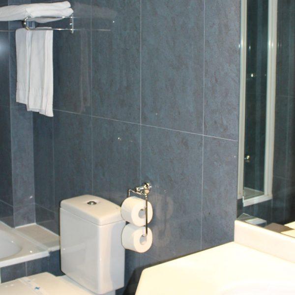 Habitación doble superior baño hotel el salt