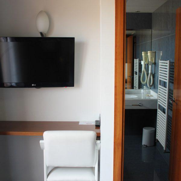 Habitación doble superior equipada hotel el salt