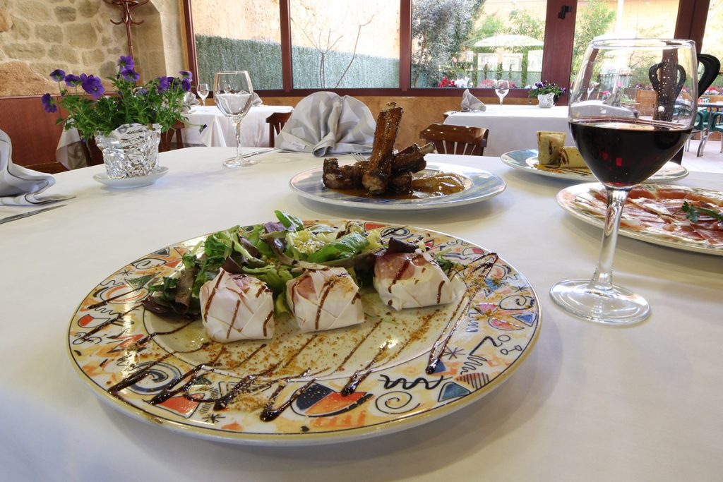 Restaurante Valderrobres Ensalada